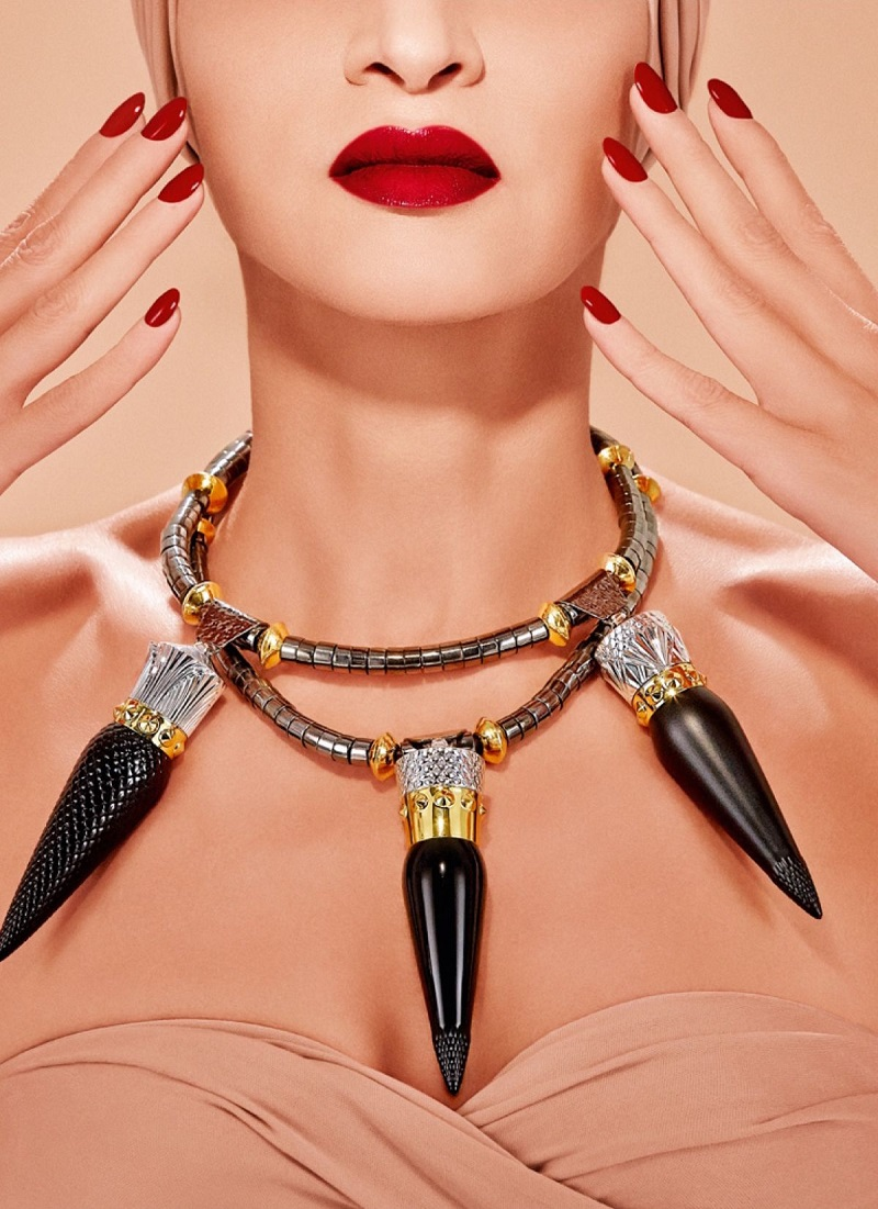 Christian Louboutin Rouge Louboutin Silky Satin Lip Colour