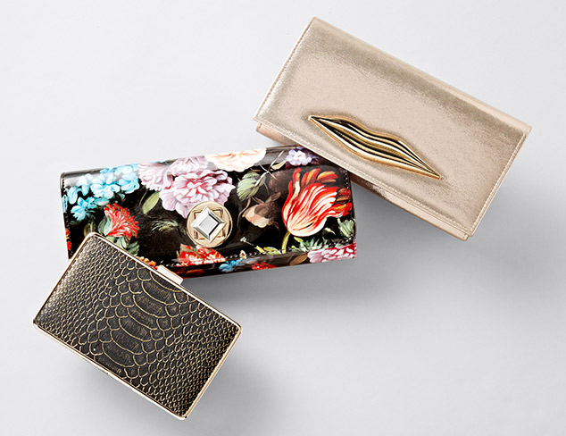 Clutches feat. Jessica McClintock at MYHABIT