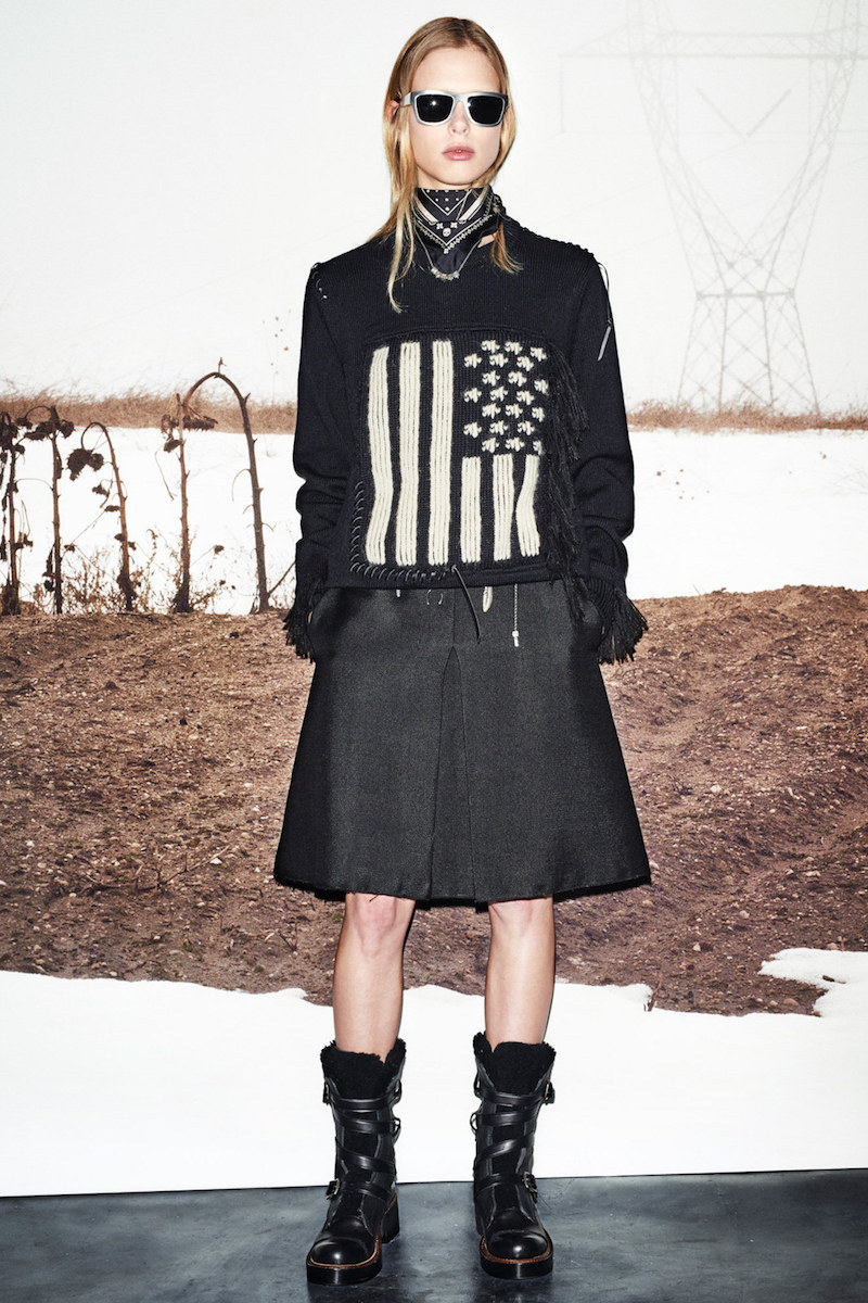 Coach Wool-blend Skirt