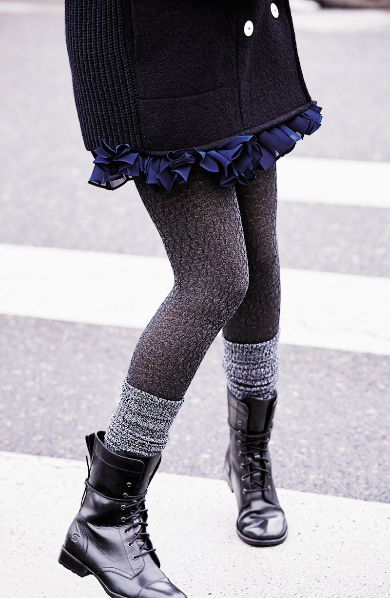 DKNY Open Knit Tights