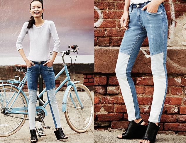Denim Trends Flared Jeans & More at MYHABIT
