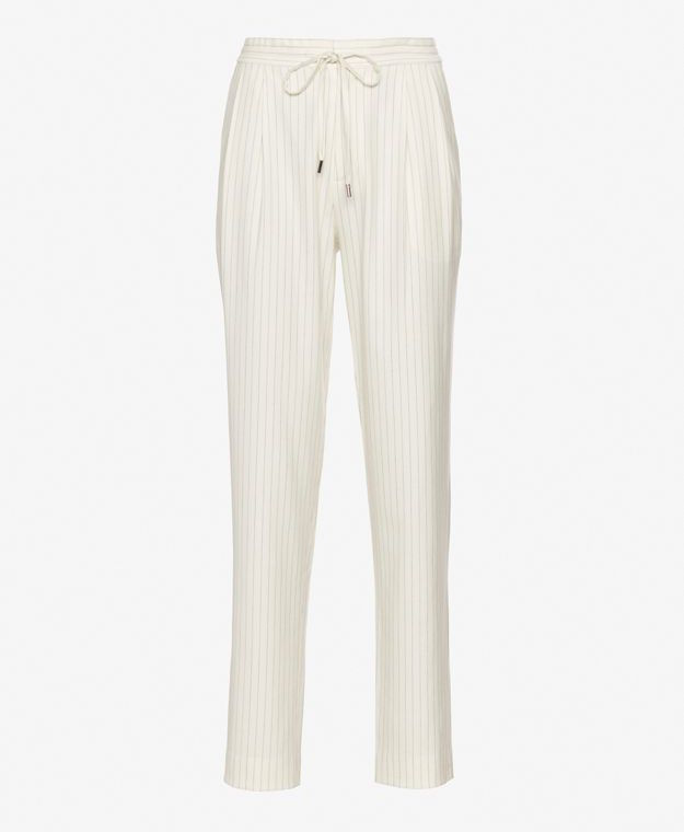 Derek Lam 10 Crosby Pinstripe Track Pant Trouser_1