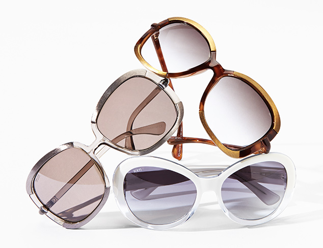 Designer Sunglasses feat. Tod's at MYHABIT