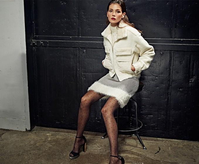 Diane von Furstenberg Plush Dress