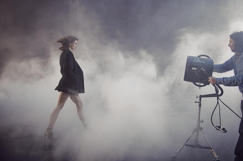 Donna Karan Cashmere Mist Fragrance Campaign feat. Andreea Diaconu-1