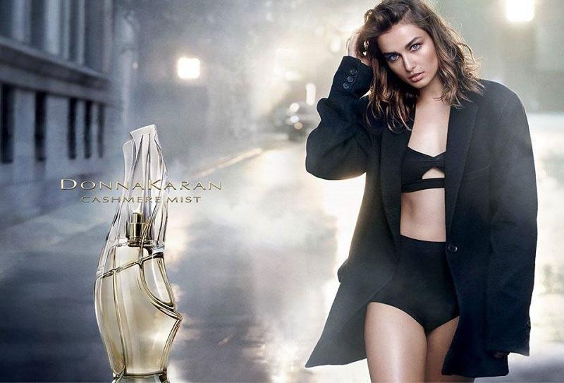 Donna Karan Cashmere Mist Fragrance Campaign feat. Andreea Diaconu