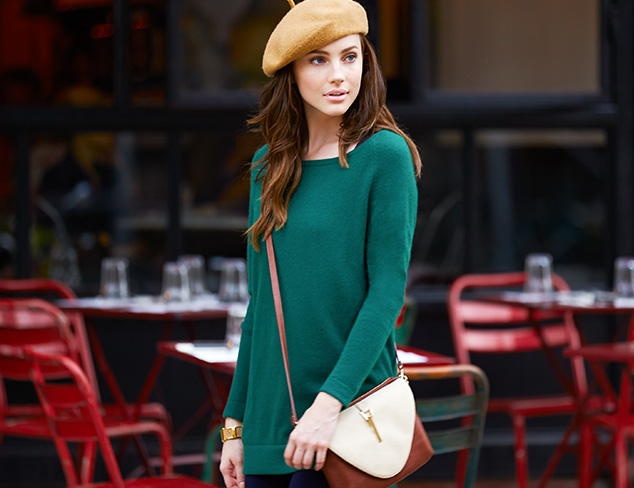 Elevated Essential Cashmere Sweaters at MYHABIT