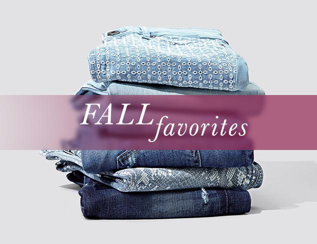 Fall Favorites Denim at MYHABIT