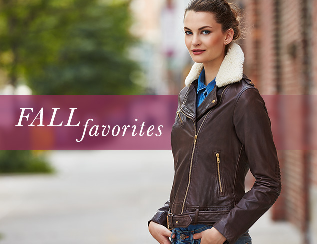 Fall Favorites Outerwear at MYHABIT