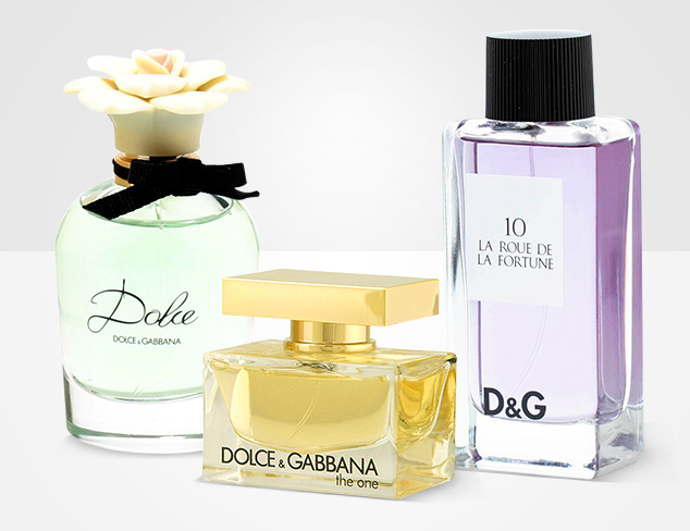Favorite Fragrances feat. Dolce & Gabbana at MYHABIT
