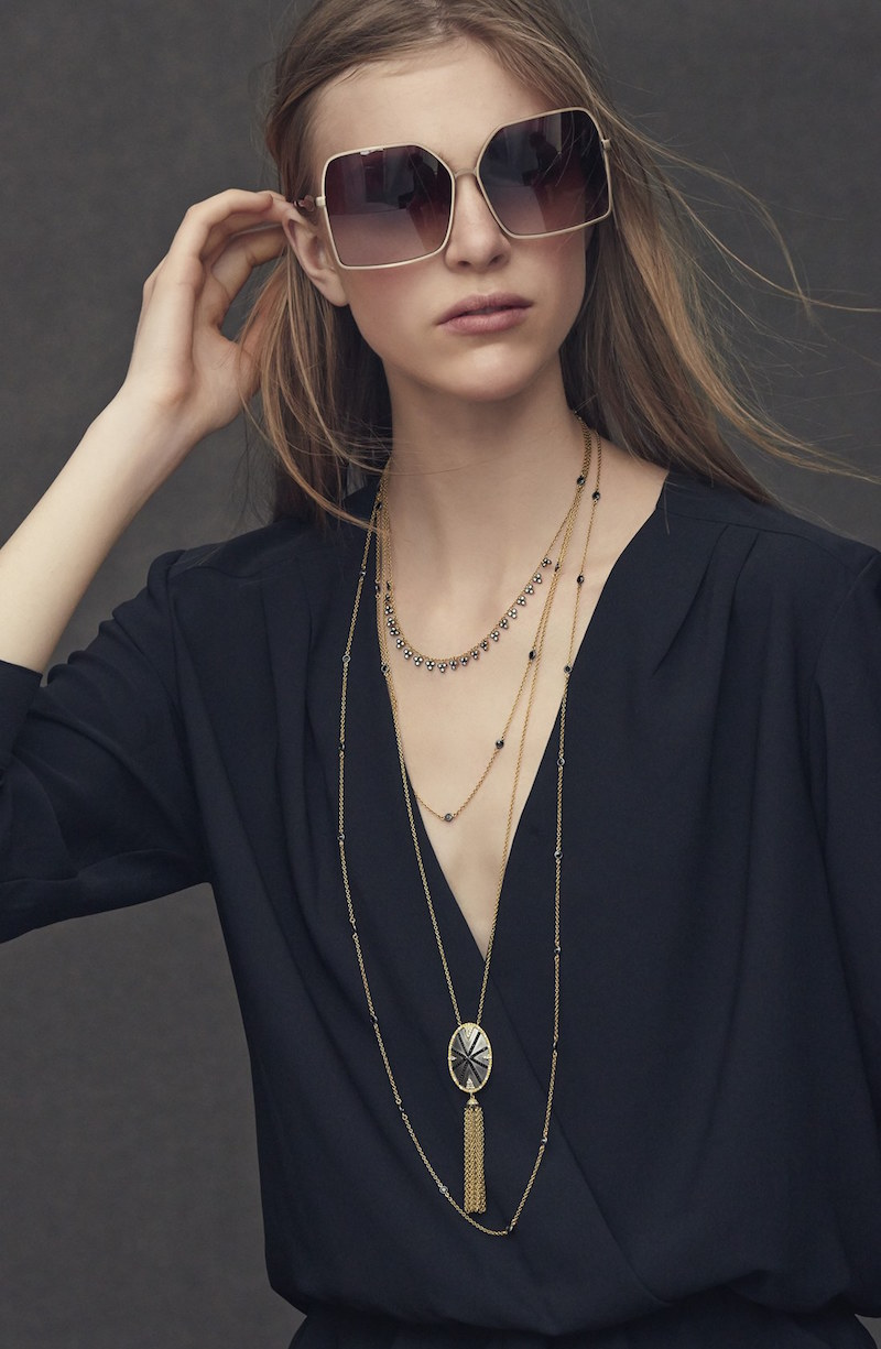 Freida Rothman Visionary Extra Long Station Necklace