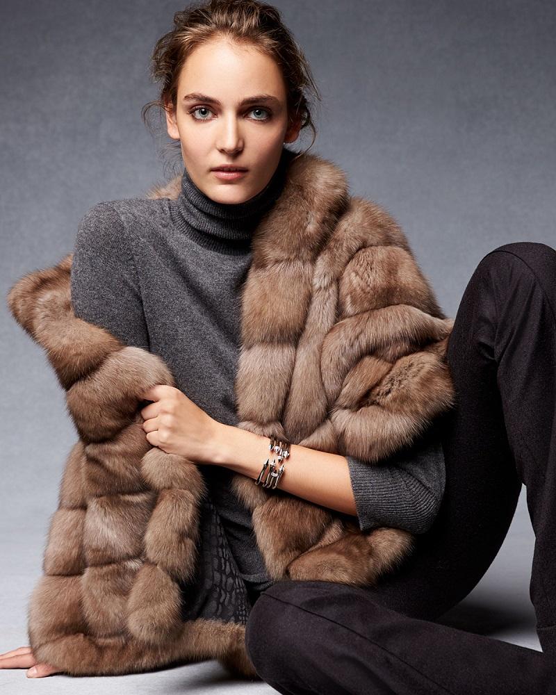 Gorski Sable Fur Jacket