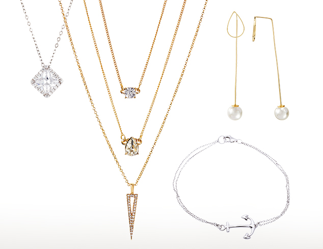 Graceful Layering Jewelry at MYHABIT