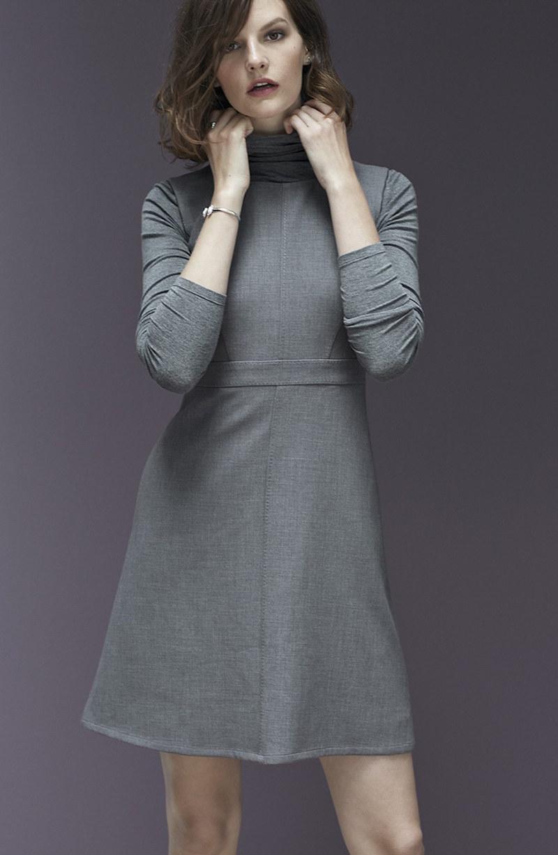 Halogen Sleeveless A-Line Dress
