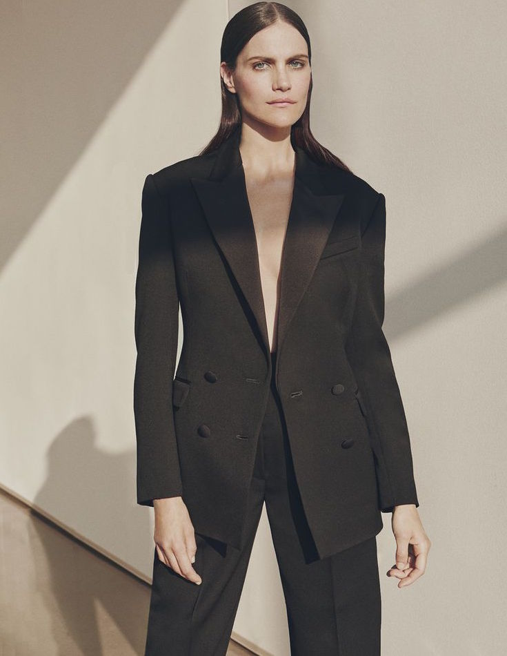 Hillier Bartley Double-breasted Tuxedo Jacket