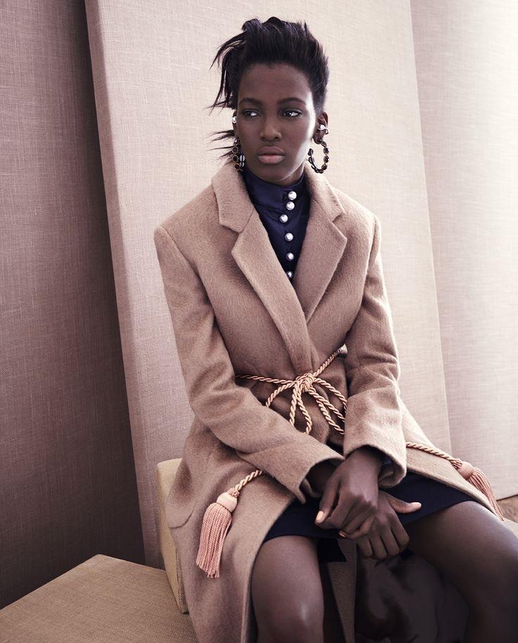 Hillier Bartley Notch-lapel tassel-tie coat