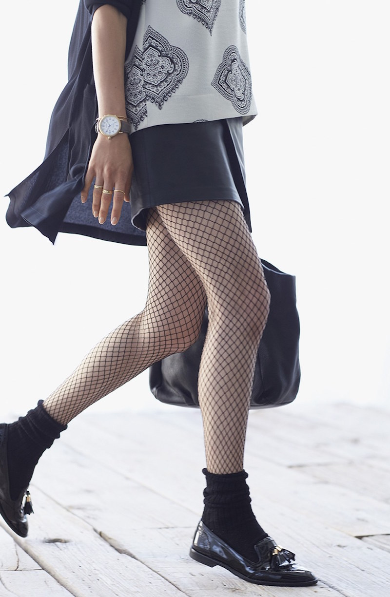 Hue Super Fishnet Tights