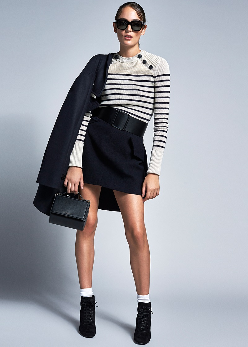 Isabel Marant Hatfield Navy Knit Sweater