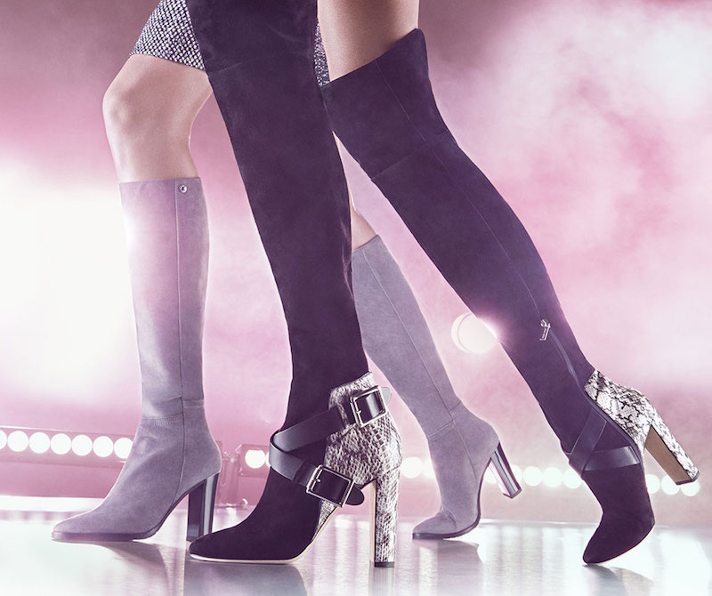 378eedea69e JIMMY CHOO Doma 100 Leather   Snakeskin Over‑The‑Knee Boots