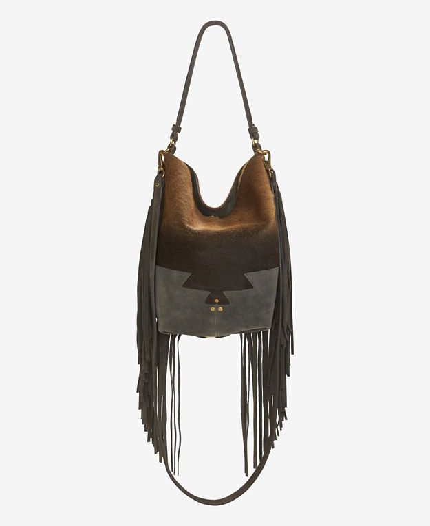 Jerome Dreyfuss Mario Fringe Degrade Bucketbag