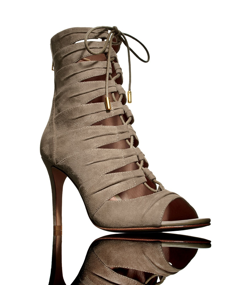 Joie Anja Lace-Up Cage Bootie