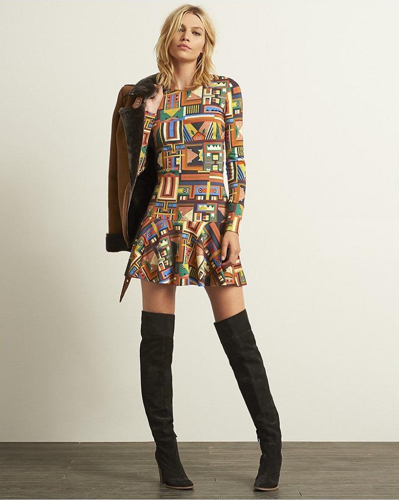 Just Cavalli Monster Print Dress