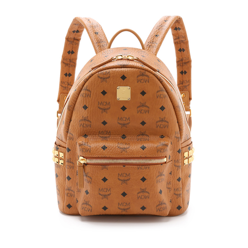 MCM Side Stud Small Stark Backpack