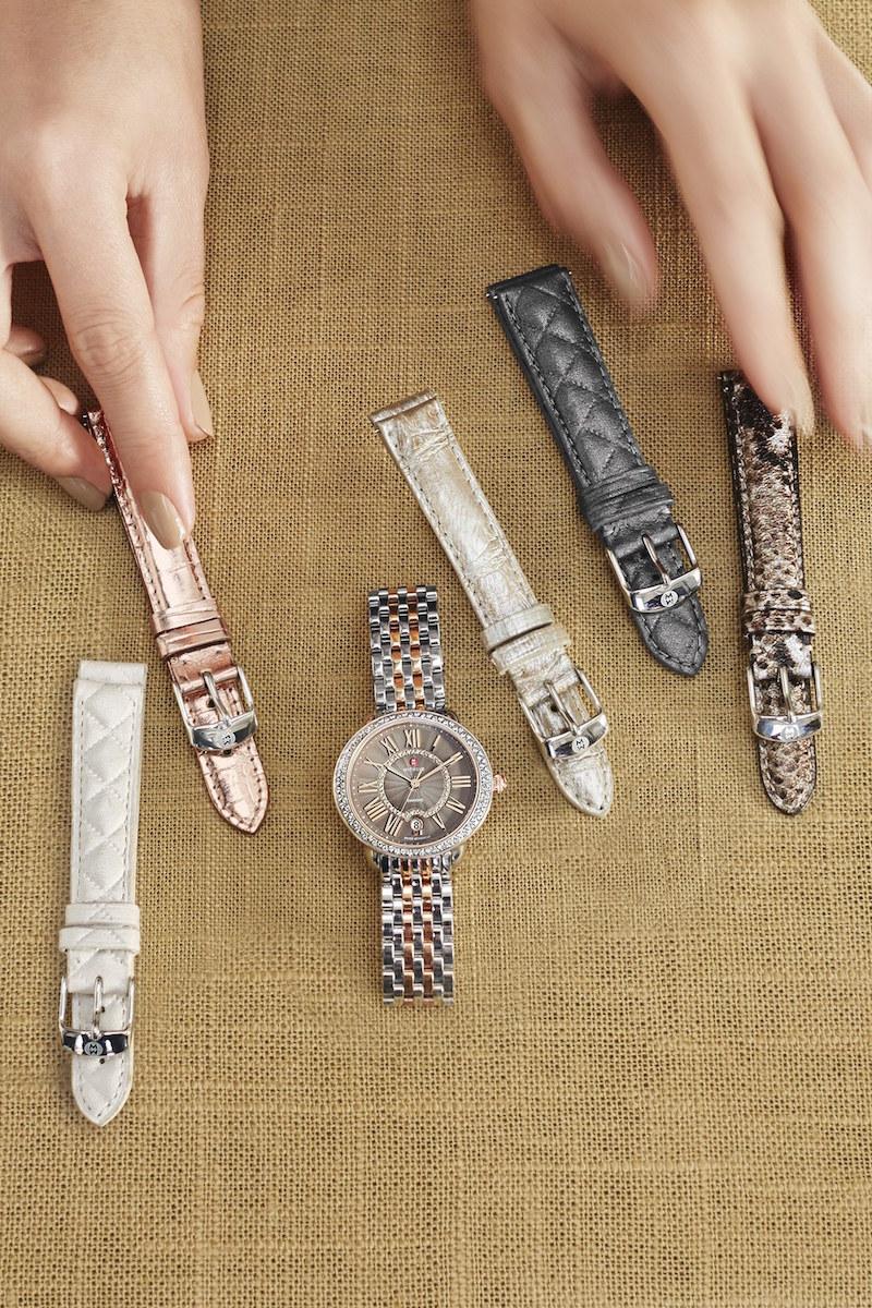 MICHELE Serein 16 Diamond Watch Case