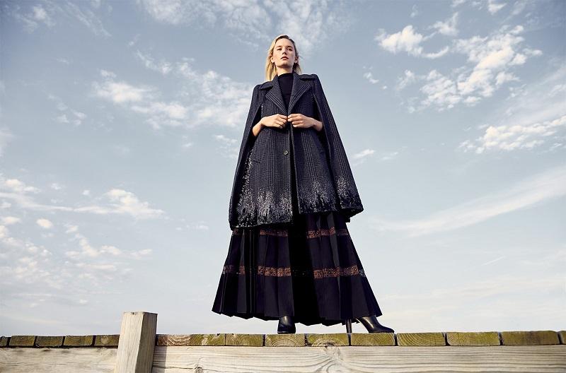 Marc Jacobs Sequined Long Cape