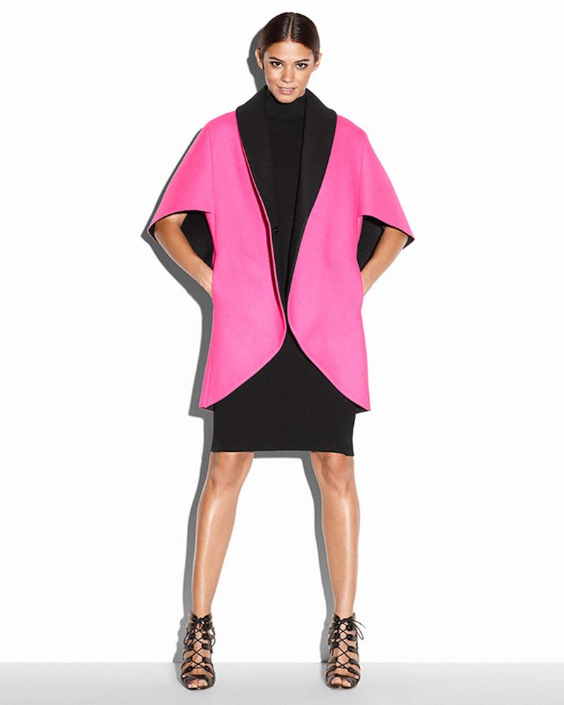 Milly Sleeveless Turtleneck Sheath Dress
