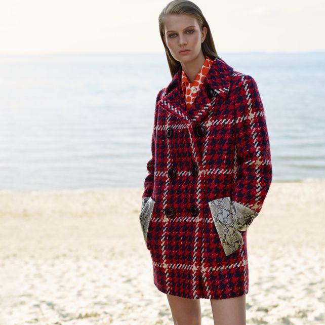 Miu Miu Wool-blend coat