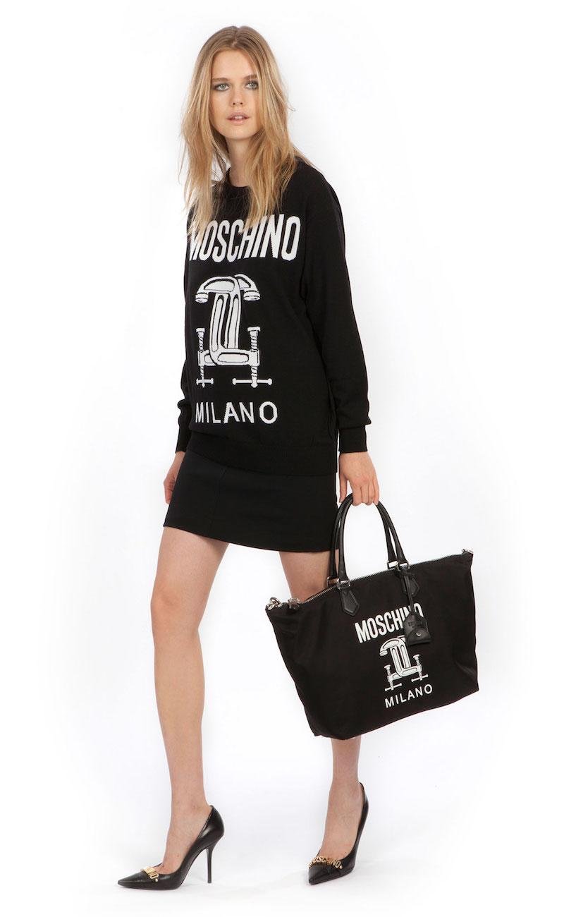 Moschino 2nd Story Graphic Sweater Tunic