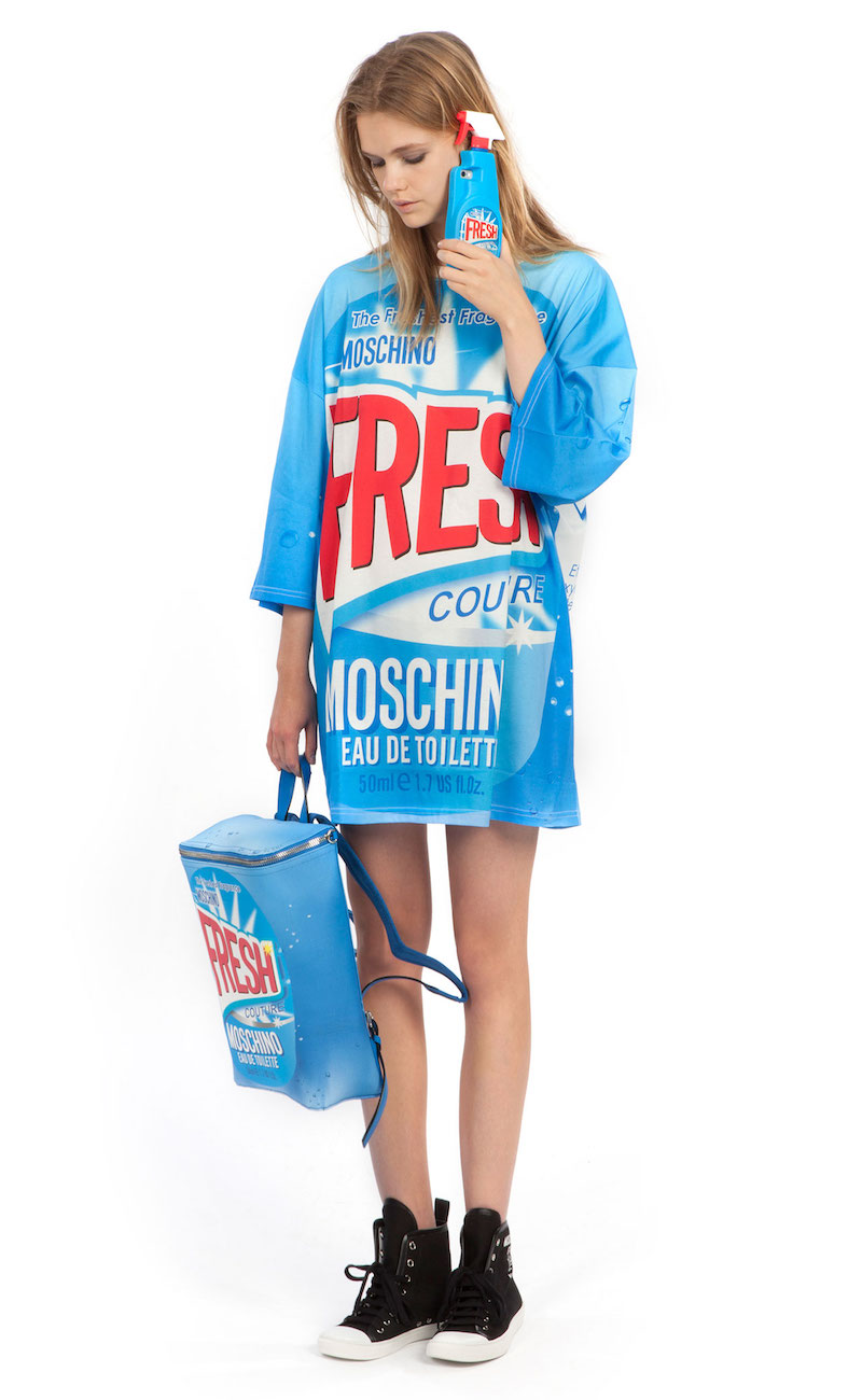 Moschino 2nd Story Print Cotton Dress