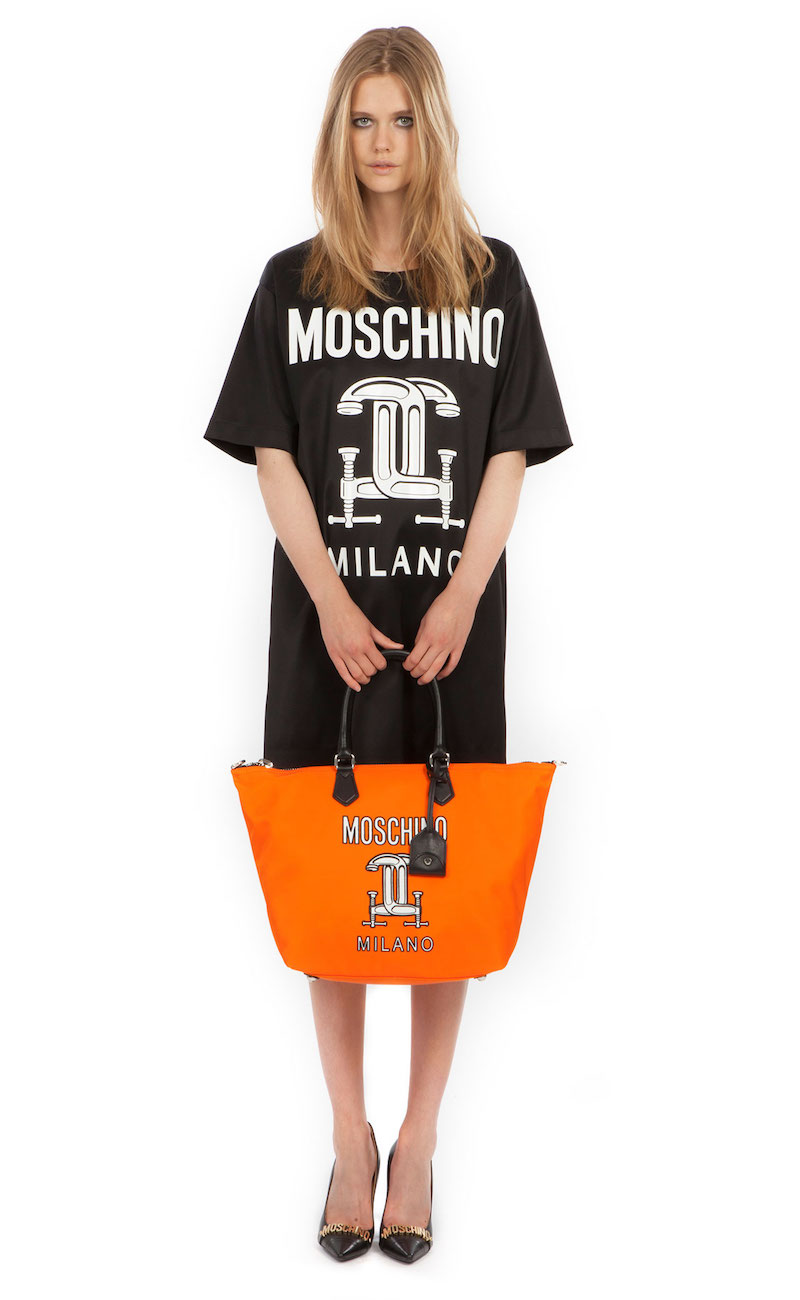 Moschino 2nd Story Short Sleeve Graphic T-Shirt Dress
