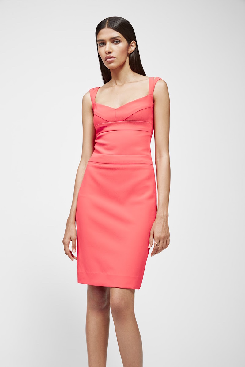 Narciso Rodriguez Compact Knit Sheath Dress