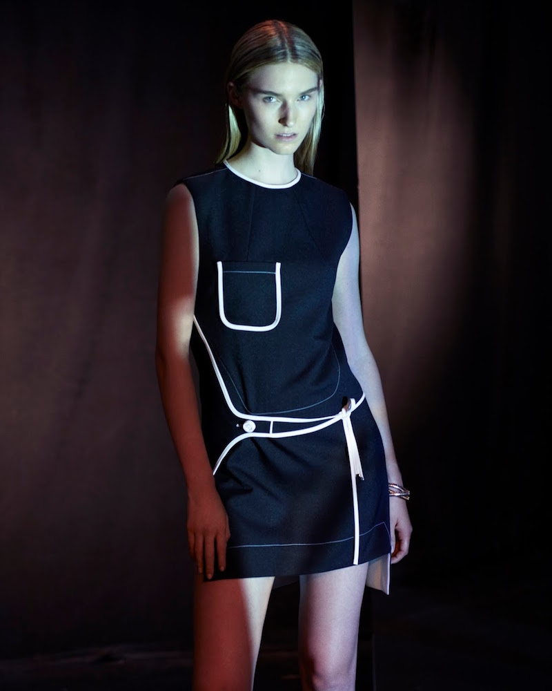Paco Rabanne Wrap-Panel Shift Dress