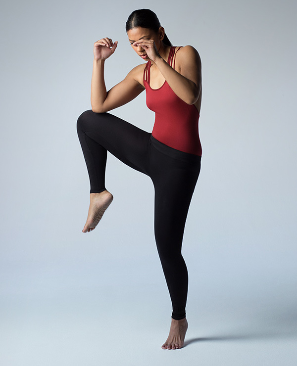 Pepper & Mayne Seamless Compression Performance Leggings