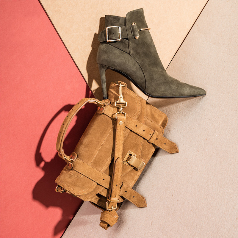 Proenza Schouler Tiny PS1 Suede