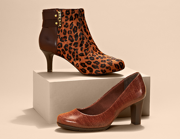 Pumps, Boots & More feat. Rockport at MYHABIT