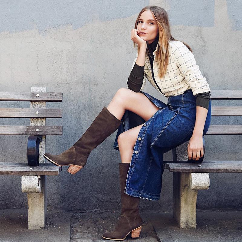 Rachel Comey Carrier Suede Knee Boots