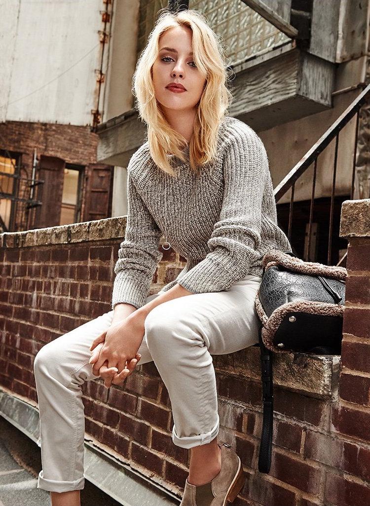 Rag & Bone/JEAN Karen Crew Sweater