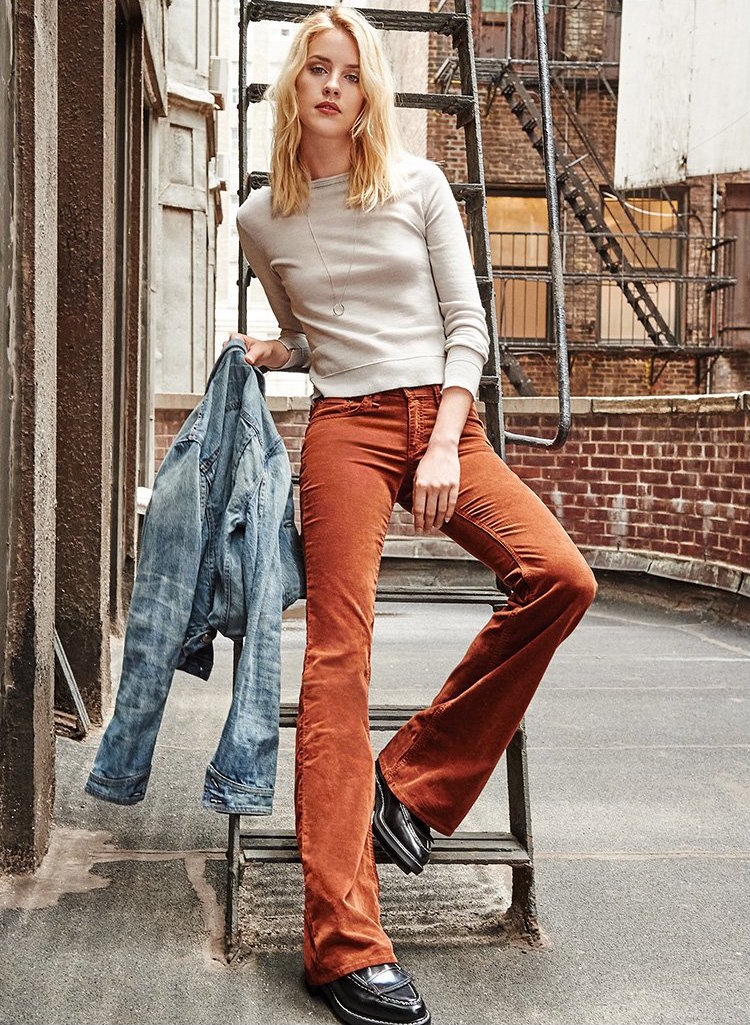 Rag & Bone/JEAN The Corduroy Bell Bottoms