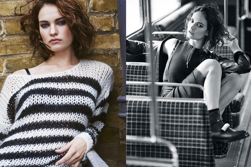 SAINT LAURENT Striped wool-blend sweater
