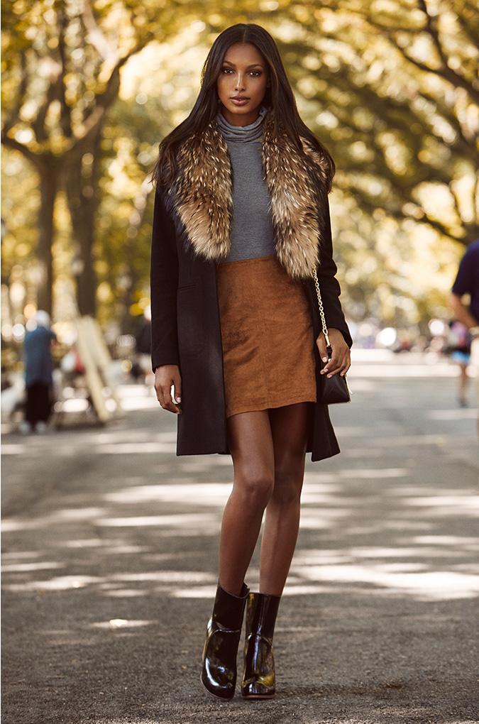 SAM. Crosby Raccoon Fur Coat