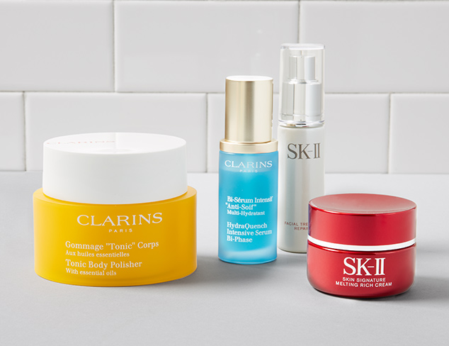 SK-II & Clarins at MYHABIT