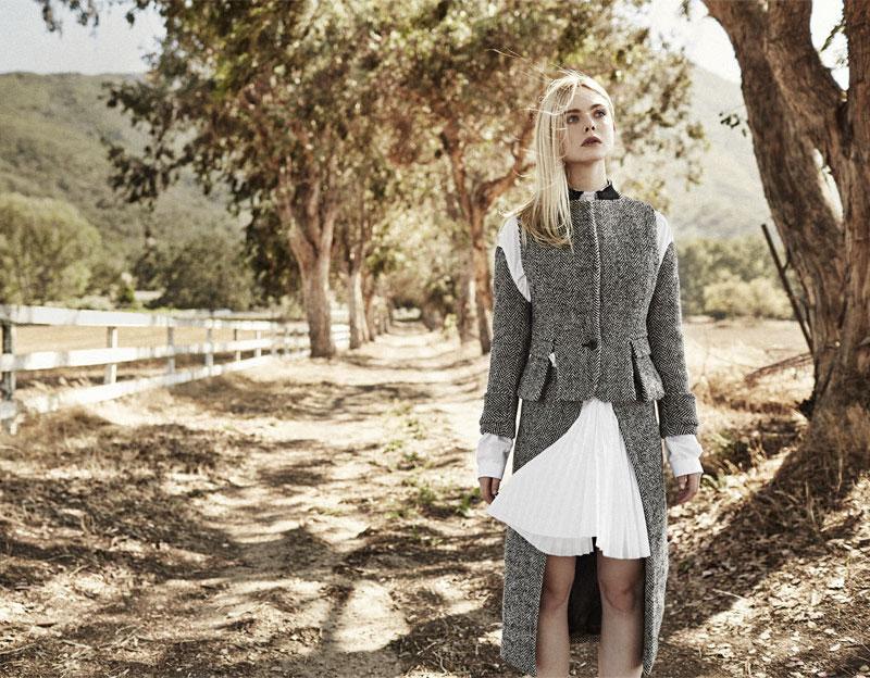 Sacai Herringbone Wool-blend Tweed Jacket