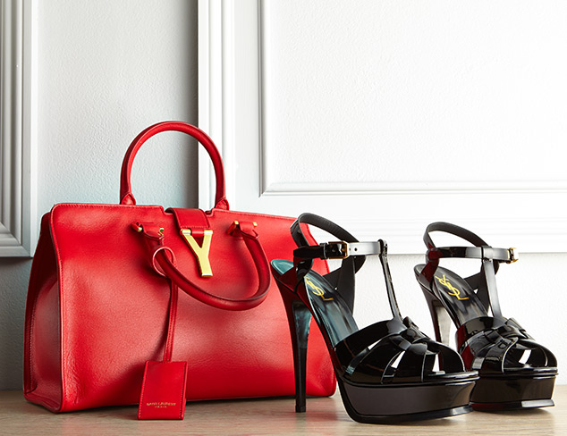 Saint Laurent Shoe & Handbags at MYHABIT