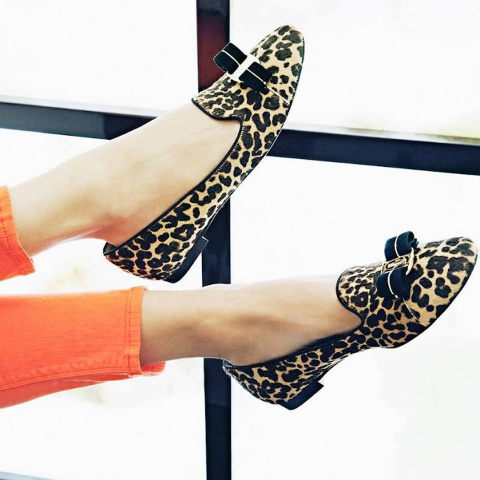 Salvatore Ferragamo Vara Leopard-Print Calf Hair Pumps