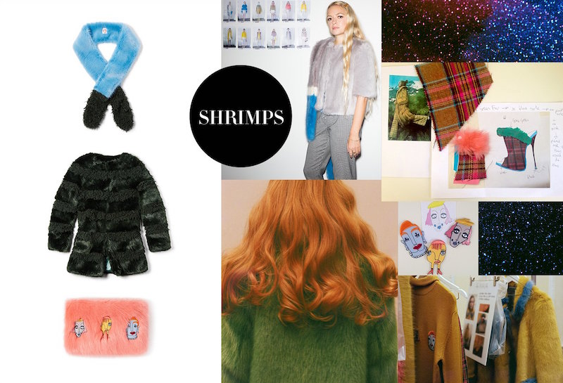 Shrimps Fall 2015 at SHOPBOP