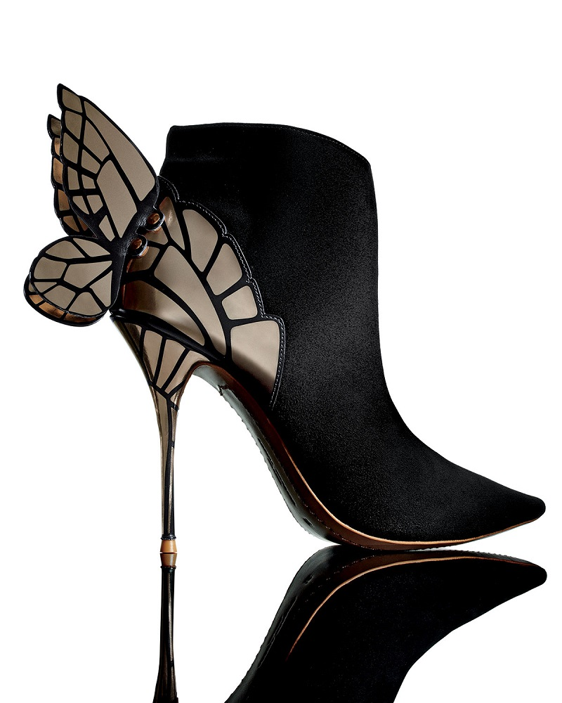 Sophia Webster Chiara 3D Butterfly Wing Boot